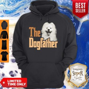 Top Samoyed The Dogfather Father's Day Hoodie