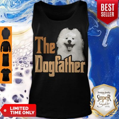 Top Samoyed The Dogfather Father's Day Tank Top