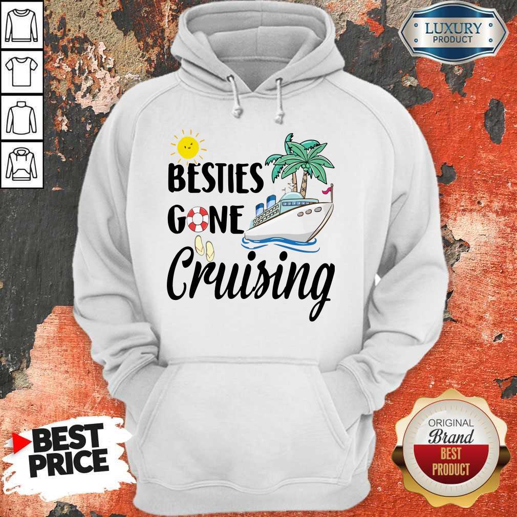 Awesome Besties Gone Cruising Hoodie