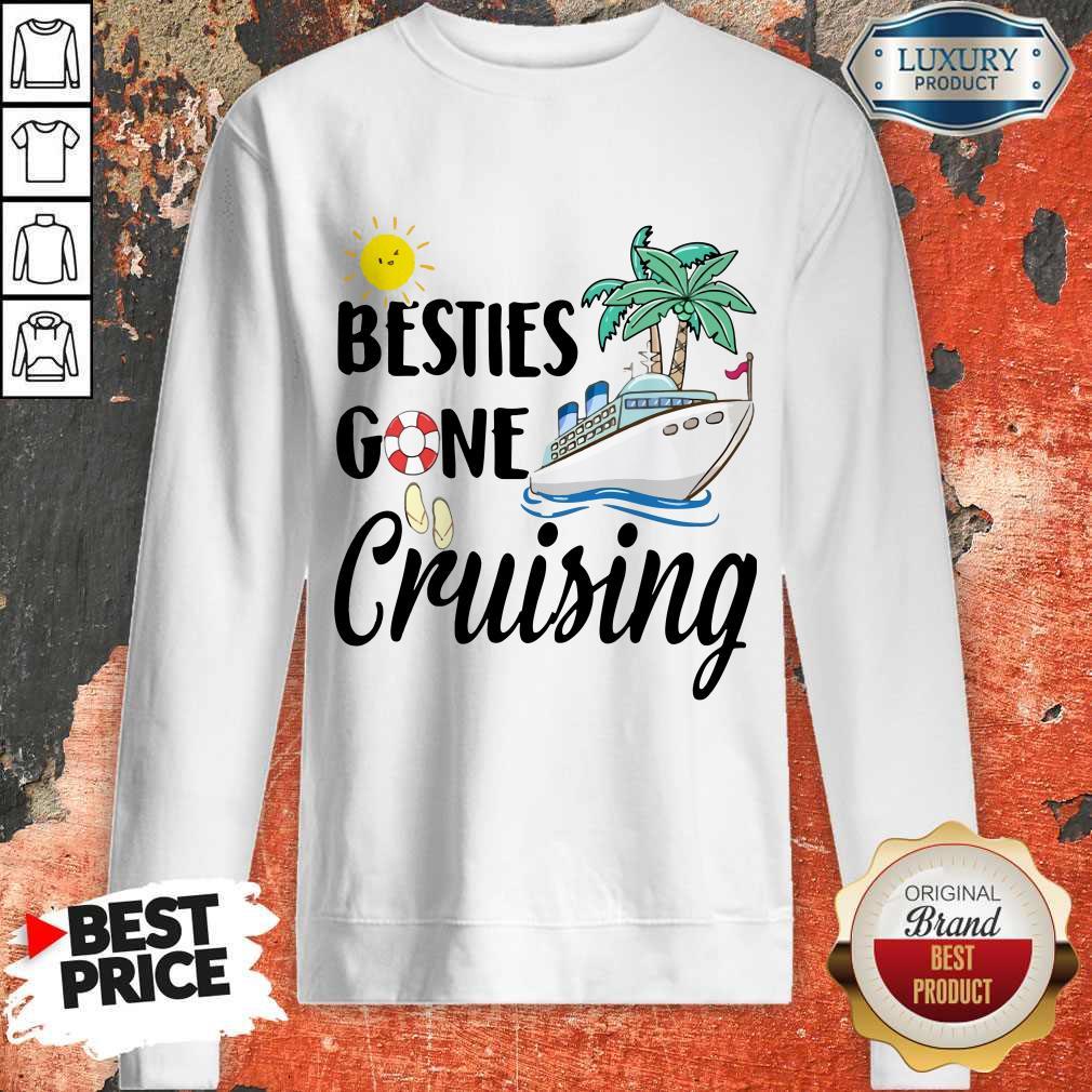 Awesome Besties Gone Cruising Sweatshirt