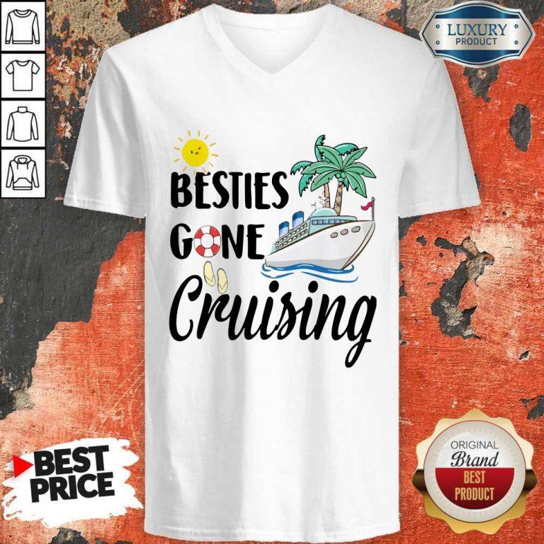 Awesome Besties Gone Cruising V-neck