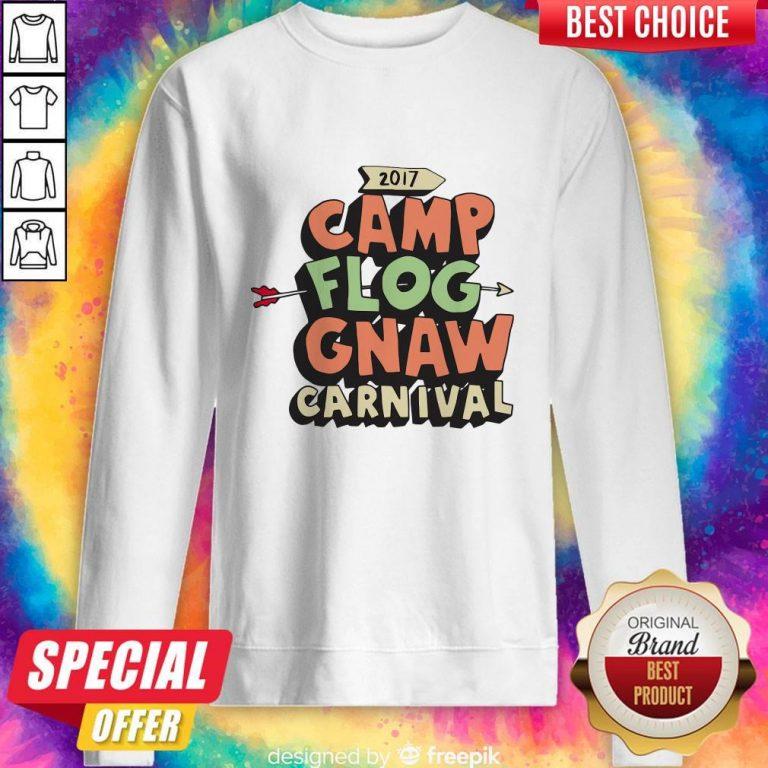 Awesome Camp Flog Gnaw Carnival Sweatshirt
