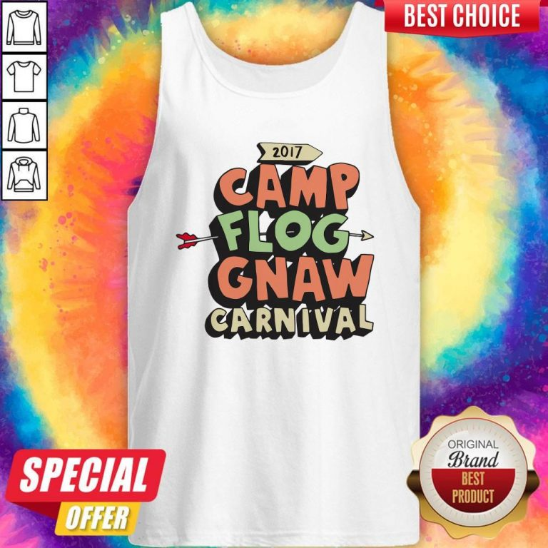 Awesome Camp Flog Gnaw Carnival Tank Top