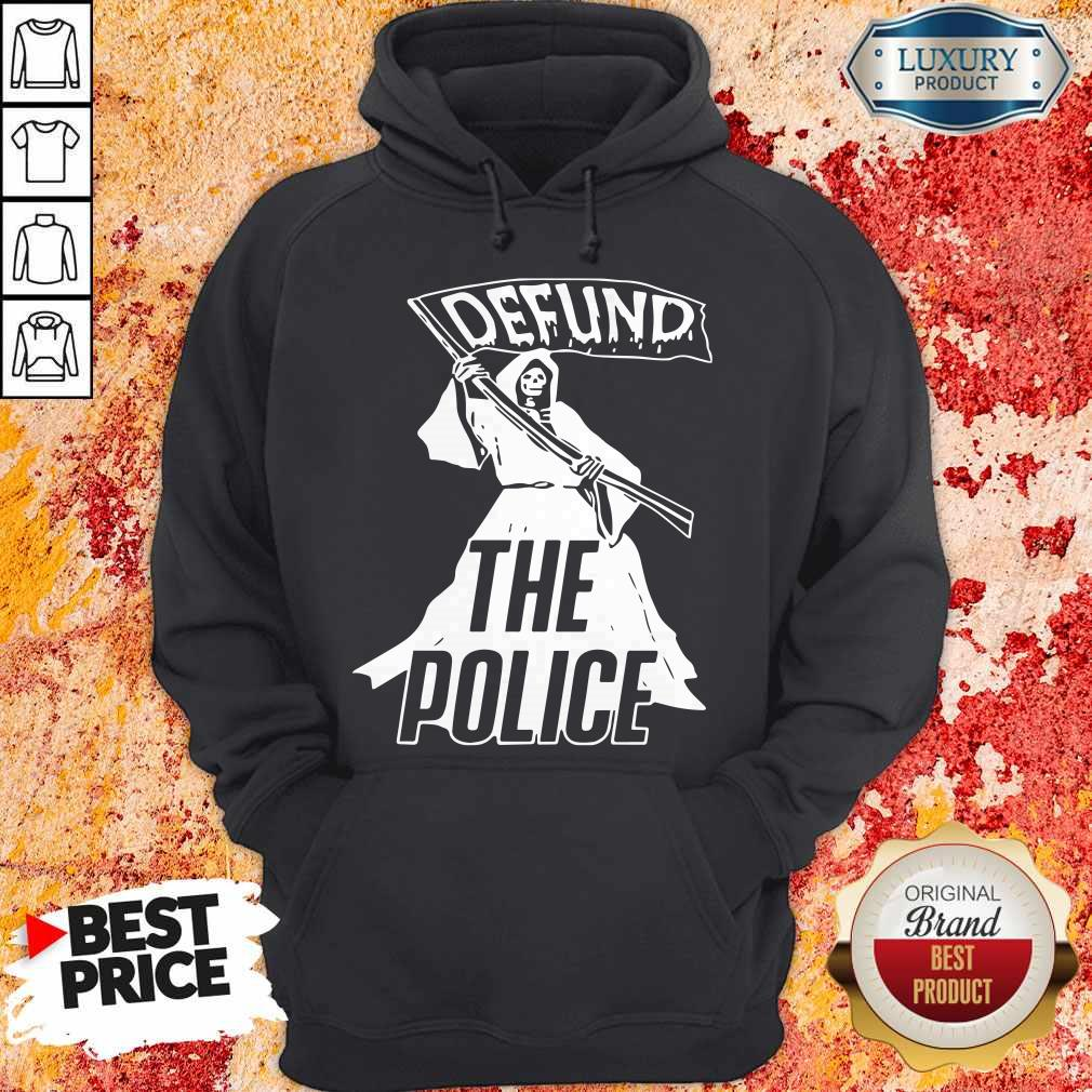 Awesome Death Defund The Police Hoodie