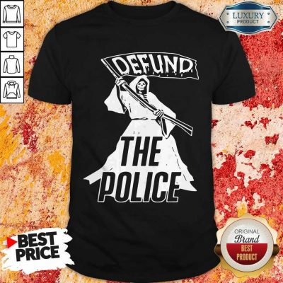 Awesome Death Defund The Police T-Shirt