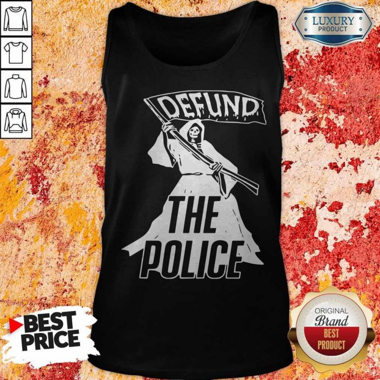 Awesome Death Defund The Police Tank Top