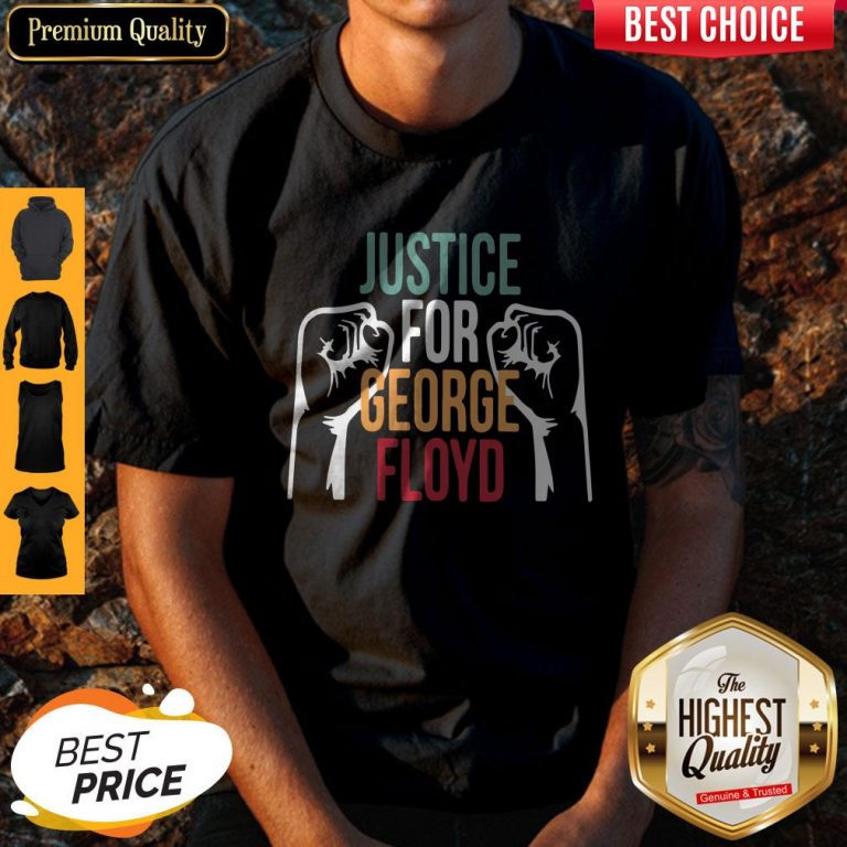 Awesome Justice For George Floyd Shirt