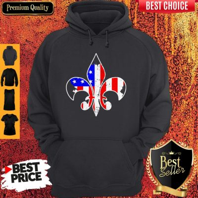 Awesome Scouting American Flag Independence Day Hoodie