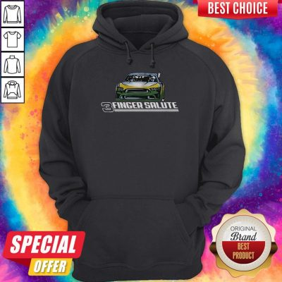 Awesome Three Finger Salute Hoodie