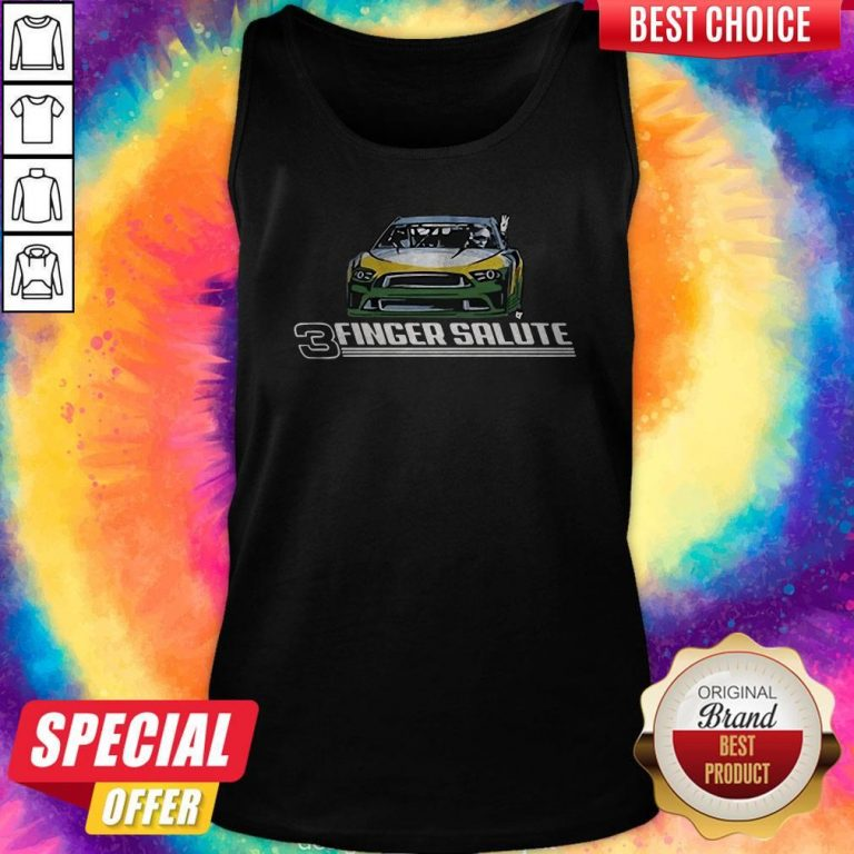 Awesome Three Finger Salute Tank Top