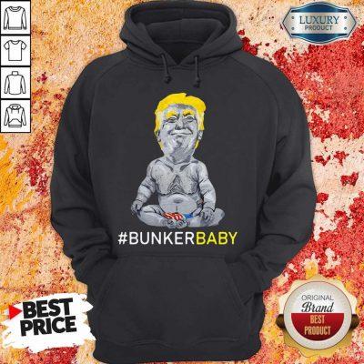 Awesome Trump Bunker Baby Hoodie