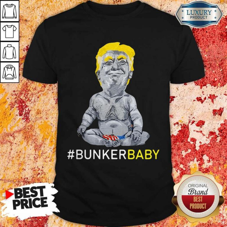 Awesome Trump Bunker Baby T-Shirt