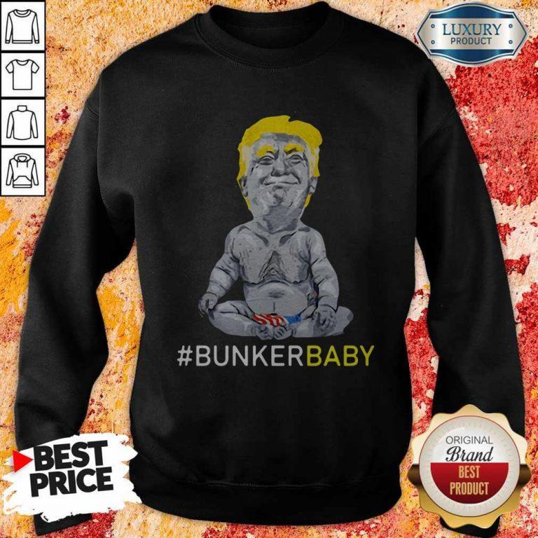Awesome Trump Bunker Baby Sweatshirt