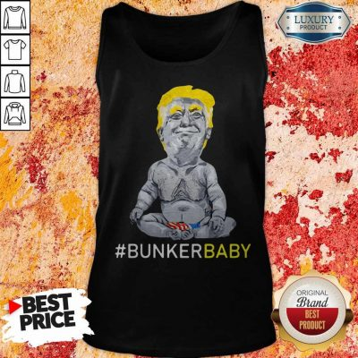 Awesome Trump Bunker Baby Tank Top