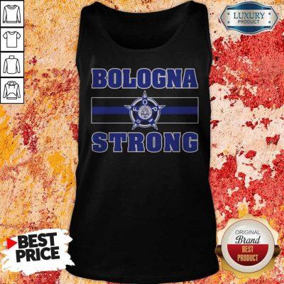 Funny Bologna Strong Tank Top