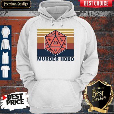 Funny Murder Hobo Vintage Hoodie