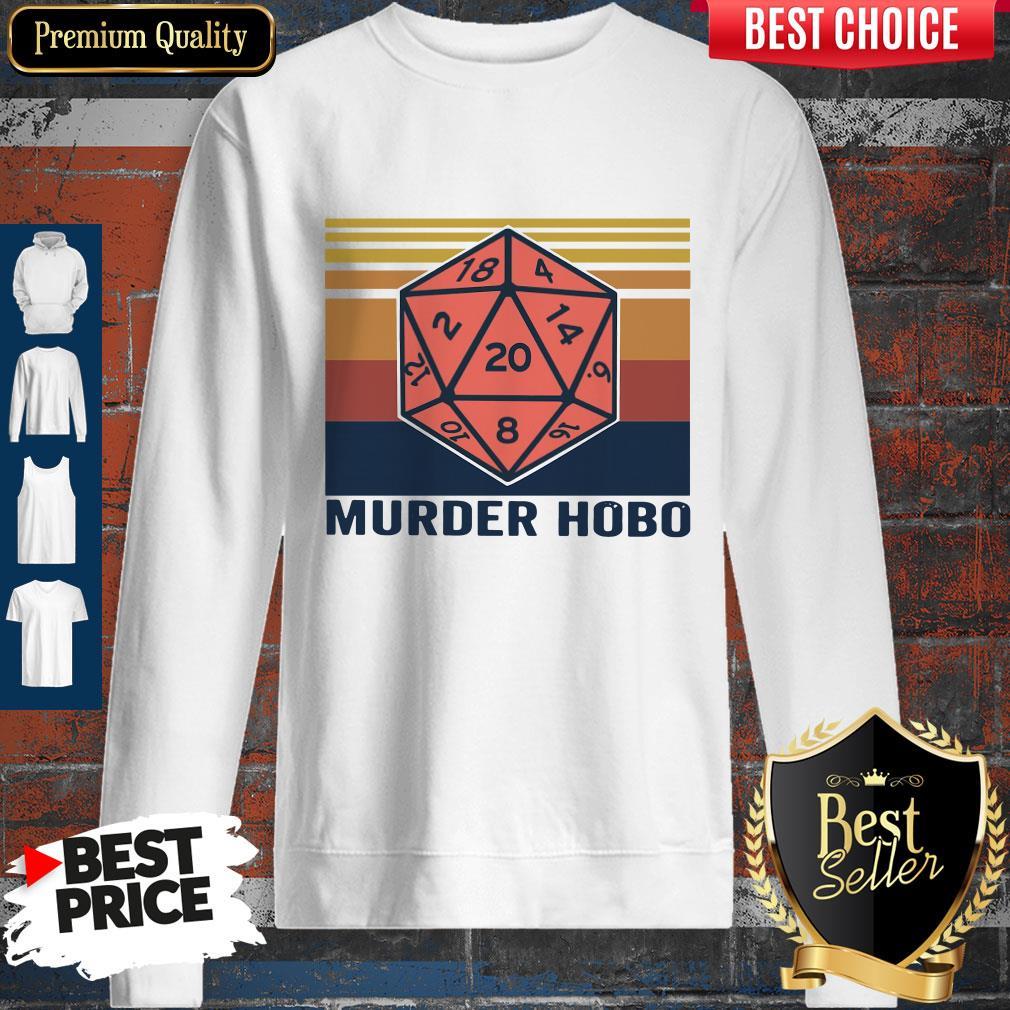 Funny Murder Hobo Vintage Sweatshirt