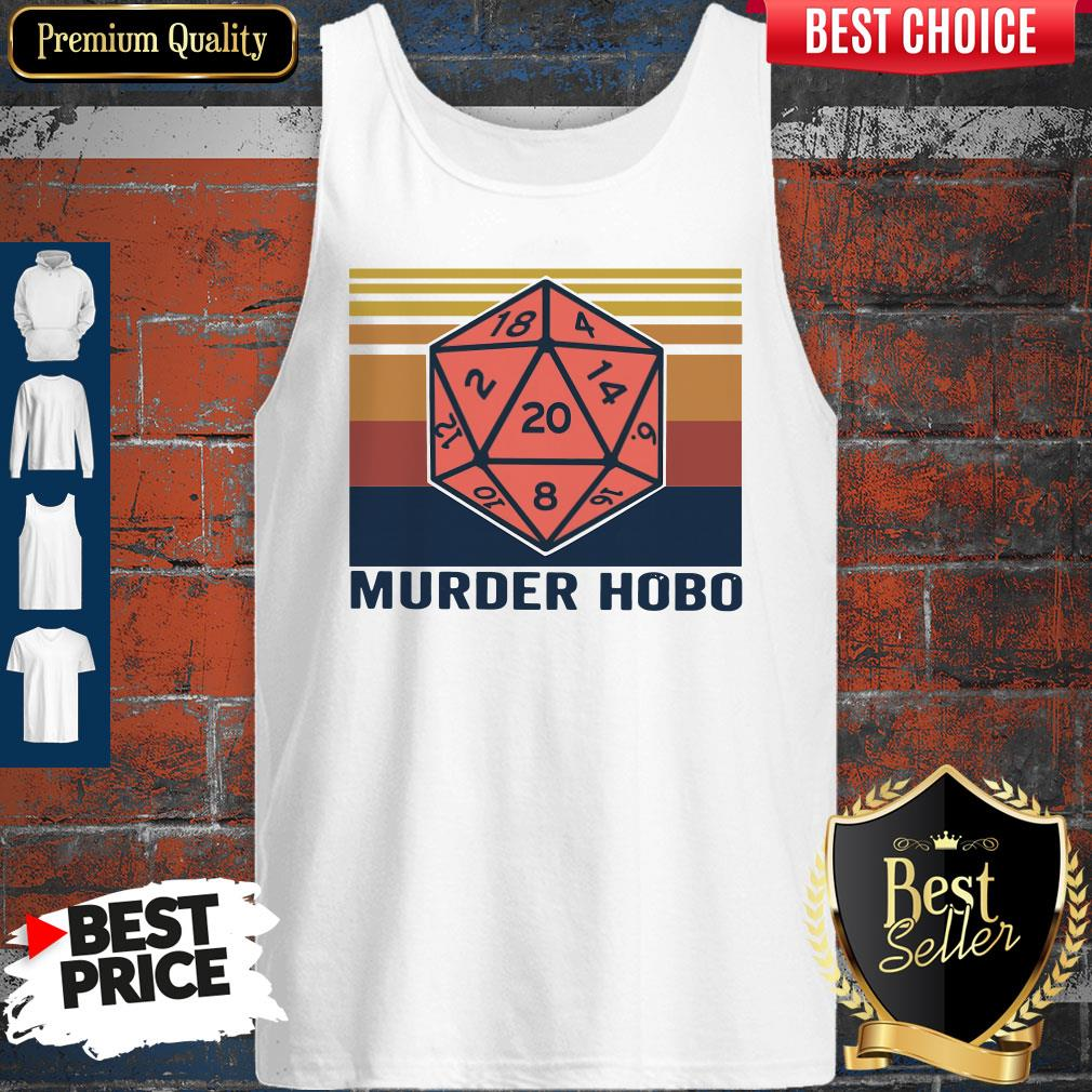 Funny Murder Hobo Vintage Tank Top