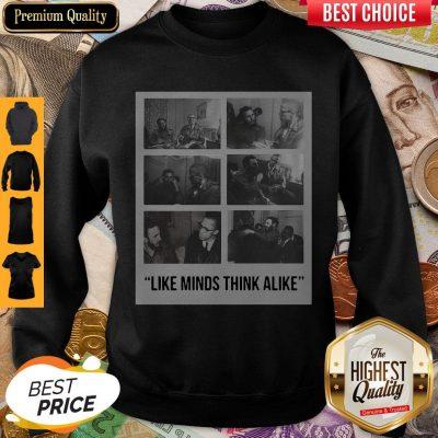 Funny Nike Colin Kaepernick Fidel Castro Like Minds Think Alike Sweatshirt