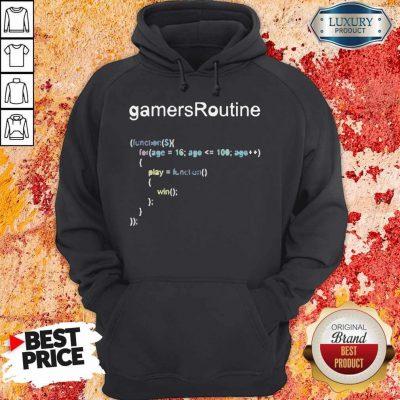 Nice GamersRoutine Code Hoodie