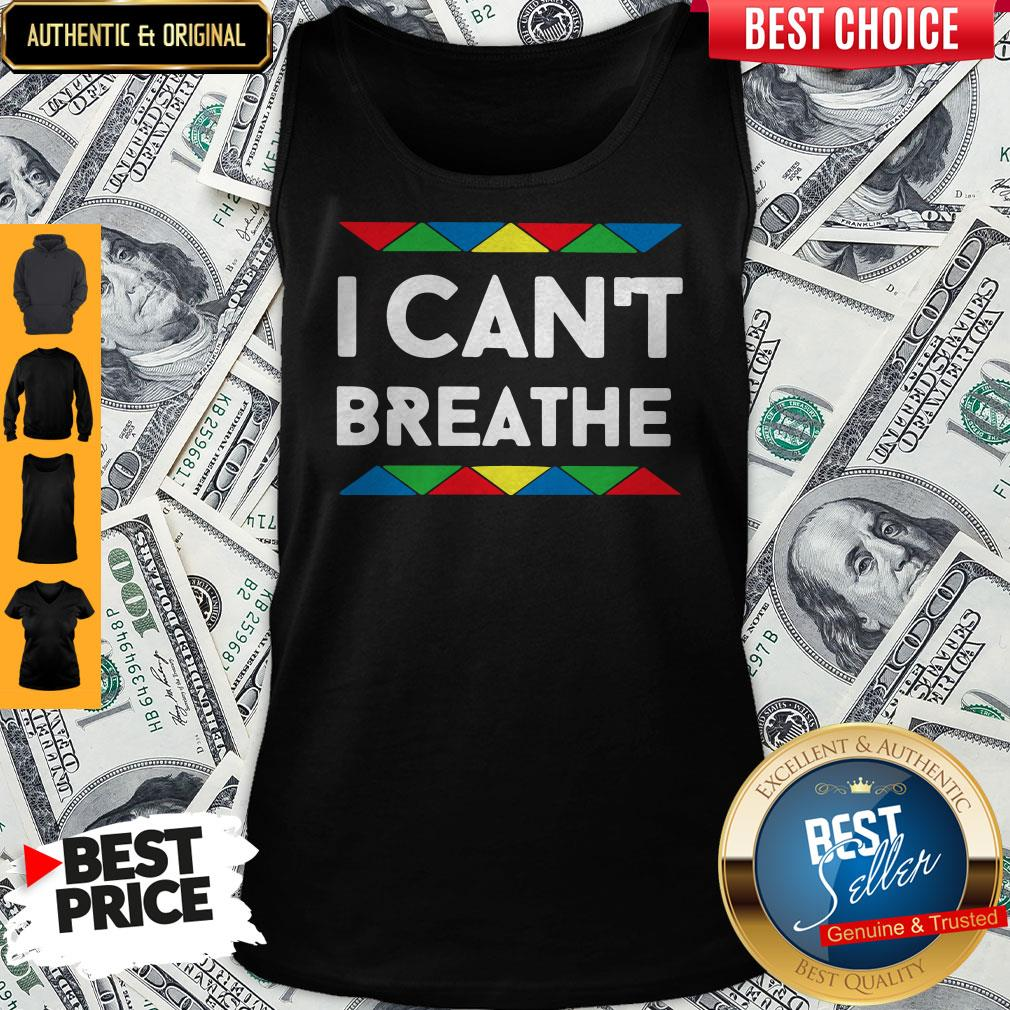 Official I Can't Breathe Tank Top