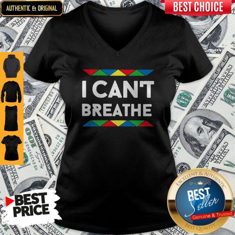 Official I Can't Breathe V-neck