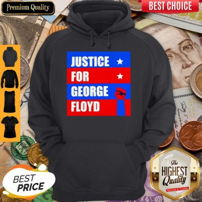 Official Justice For George Floyd T-Hoodie
