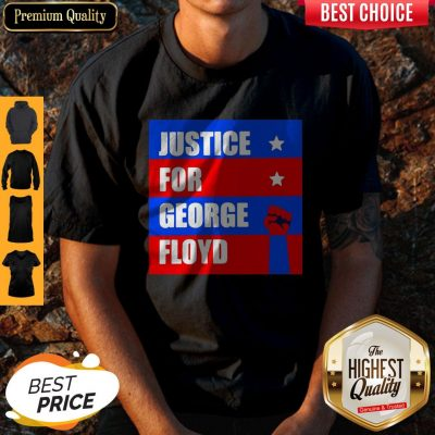 Official Justice For George Floyd T-Shirt