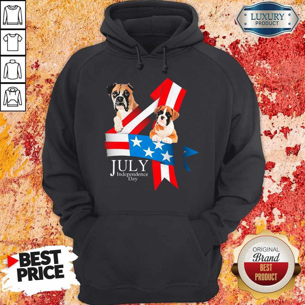 Premium Boxer Happy Independence Day Hoodie