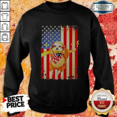 Premium Independence Day Sloth Sweatshirt