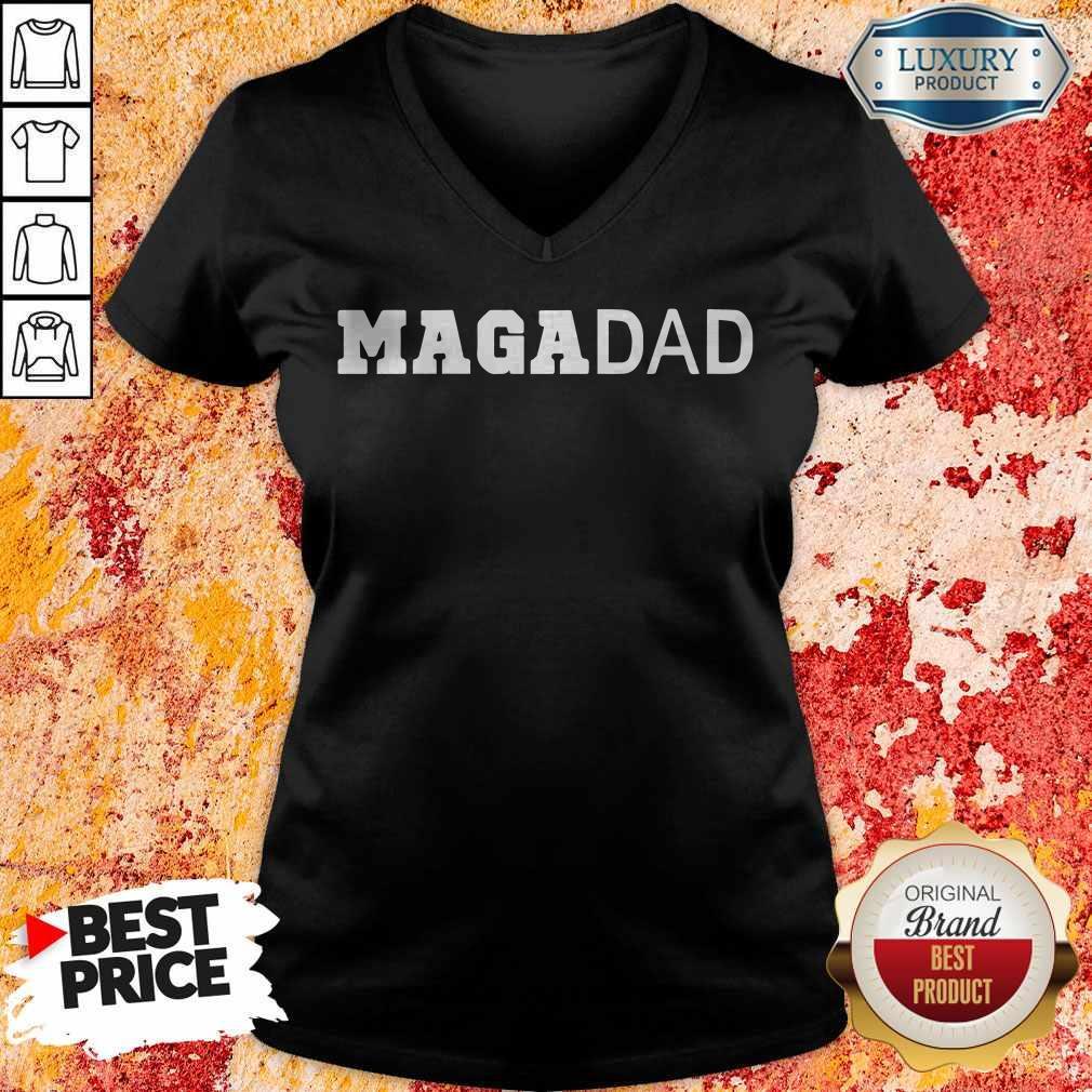 Premium Maga Dad V-neck