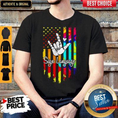 Premium Sign Language Shirt