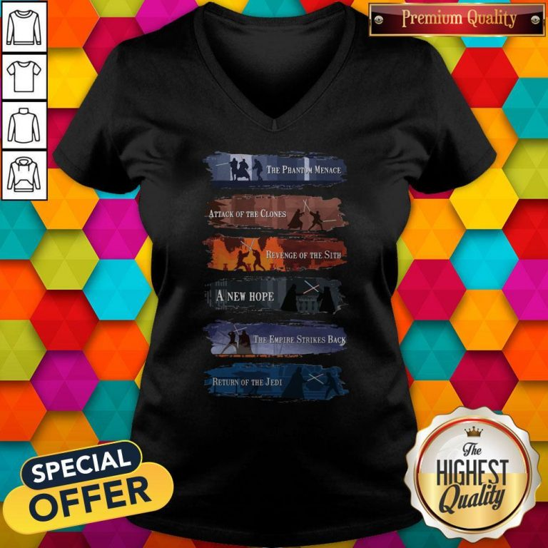 Premium Star War The Phantom Menace Attack Of The Clones Revenge Of The Sith A New Hope Tank Top