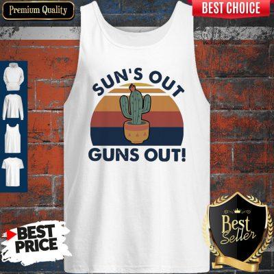 Premium Sun's Out Guns Out Vintage Tank Top