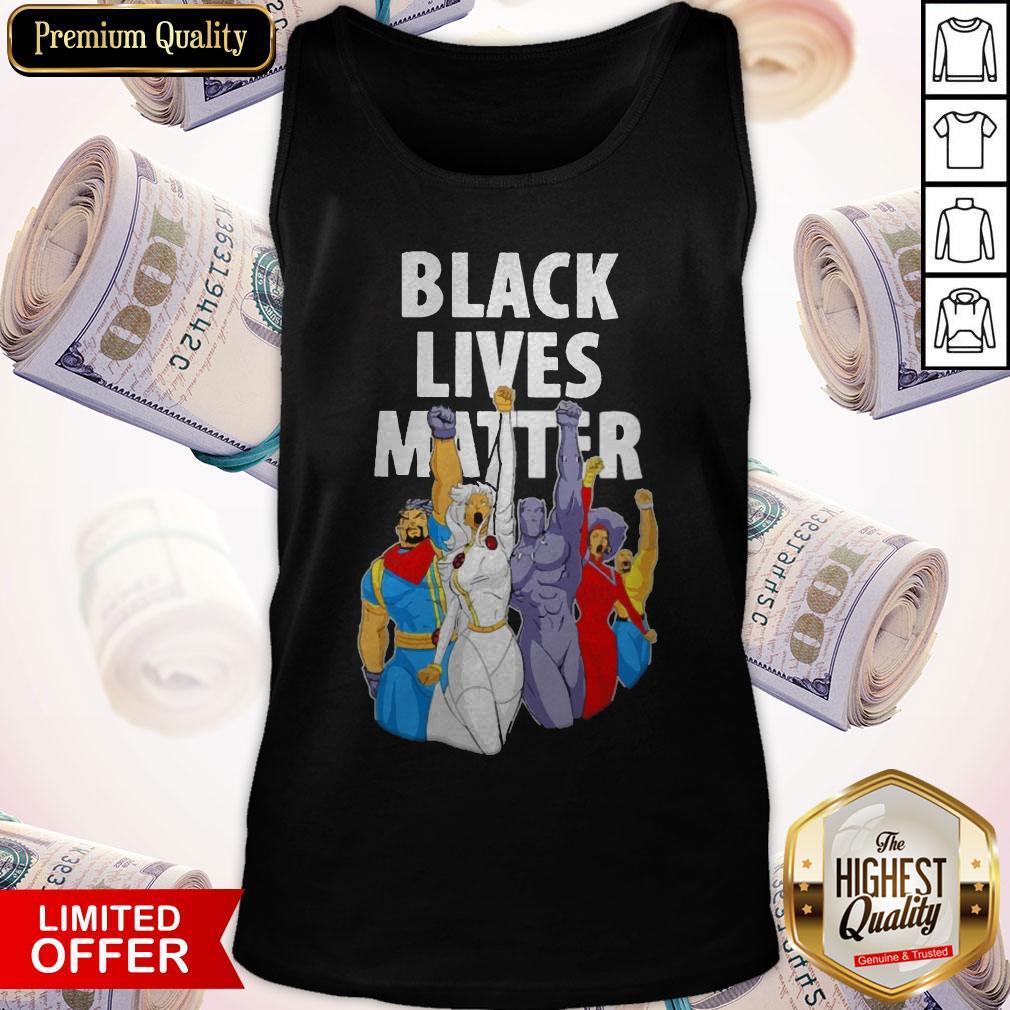 Premium X-men Strong Black Live Matter Tank Top