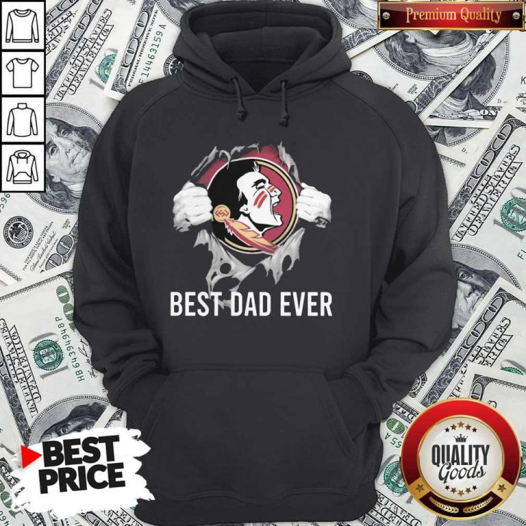 Top Blood Inside Me Florida State Seminoles Football Best Dad Hoodie