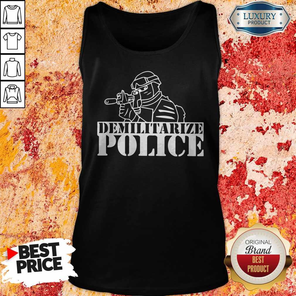 Top Demilitarize Police Tank Top