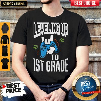 Top Leveling Up To 1ST Grade Shirt