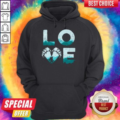 Top Love Bigfoot Mountain Hoodie