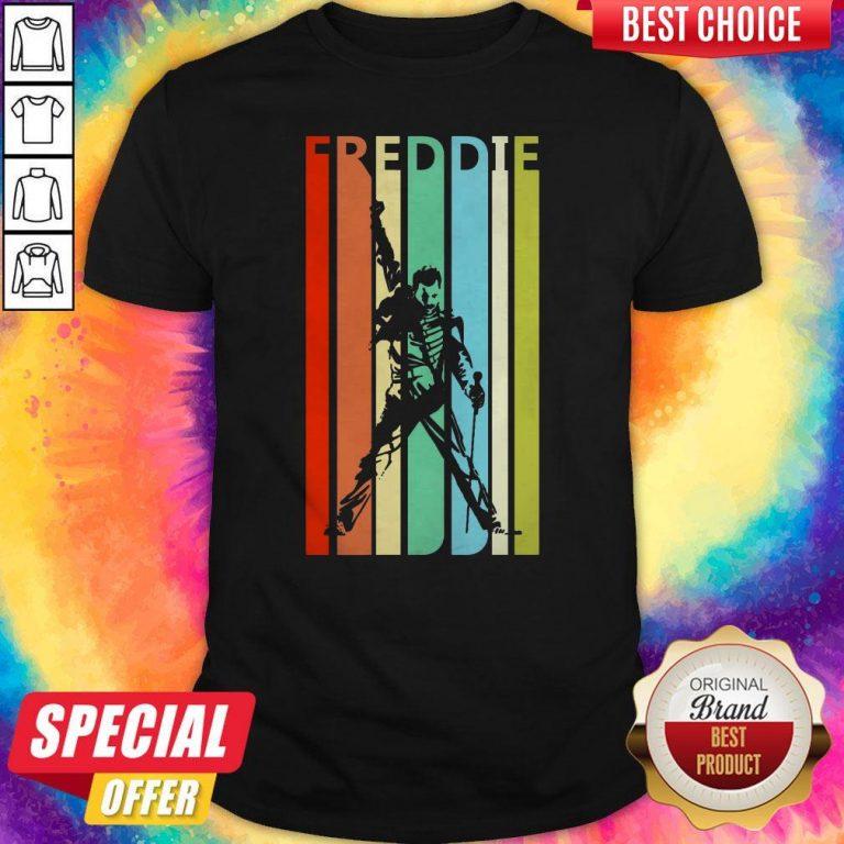 Awesome Freddie Mercury Vintage Retro Shirt