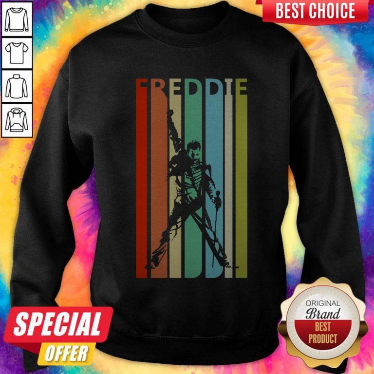 Awesome Freddie Mercury Vintage Retro Sweatshirt