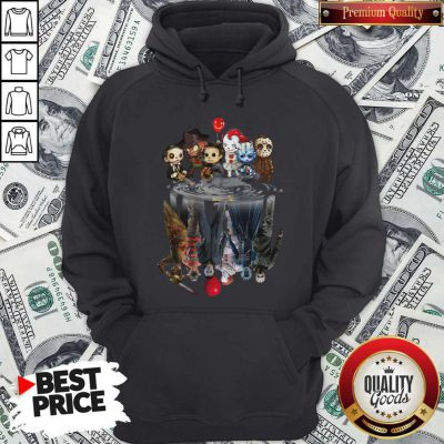 Awesome Horror Movie Character Shadows Hoodie