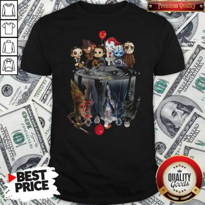 Awesome Horror Movie Character Shadows Shirt