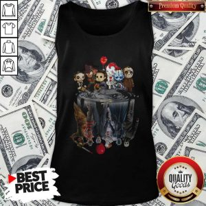 Awesome Horror Movie Character Shadows Tank Top