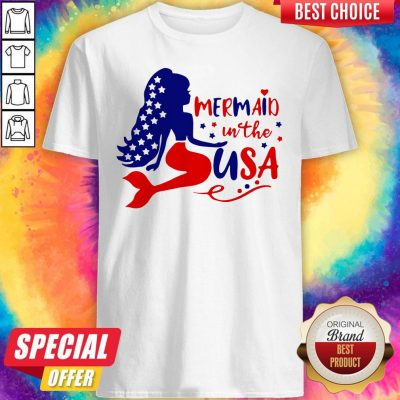 Awesome Mermaid In The USA Shirt
