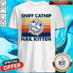 Awesome Sniff Catnip Hail Kitten Vintage Shirt
