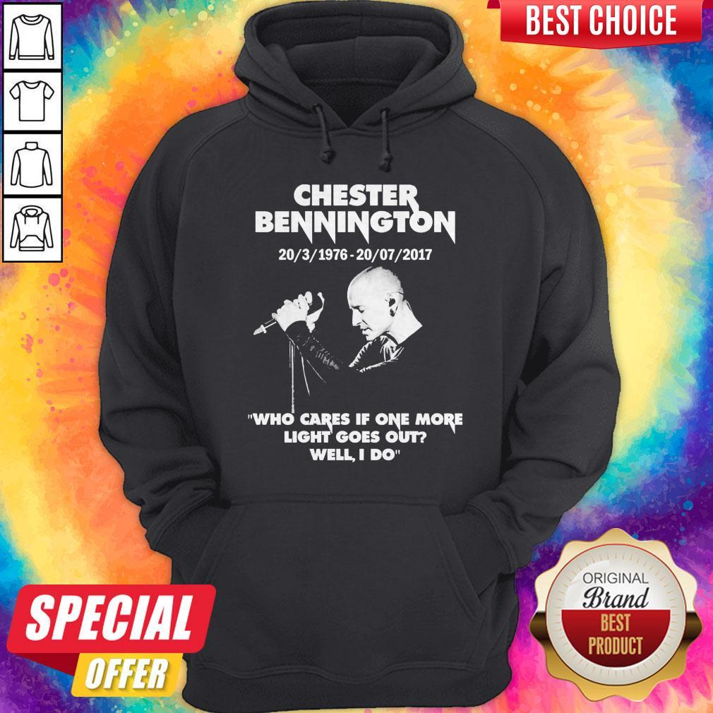 Chester Bennington Who Cares If One More Light Goes Out Hoodie