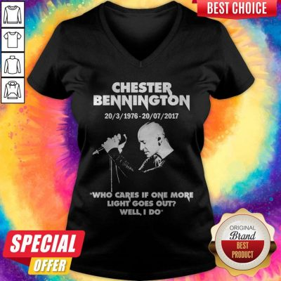 Chester Bennington Who Cares If One More Light Goes Out V-neck