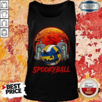 Cute Sookyball Sunset Tomb Ghost Halloween Tank Top