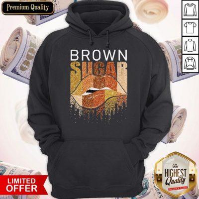 Funny Brown Sugar Lip Diamond Hoodie